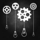 Gestione di impresa e processo decisionale Fotografia Stock