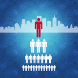 Gestione di impresa e processo decisionale Immagine Stock Libera da Diritti