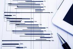 Gestione di progetti Immagini Stock
