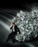 Gestione di soldi Immagine Stock Libera da Diritti