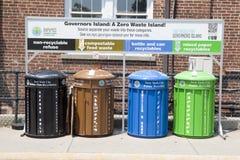 Gestione e riciclaggio dei rifiuti Fotografia Stock Libera da Diritti