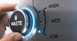 Gestione magra, ottimizzazione residua Immagine Stock