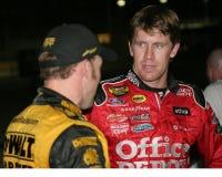 Gestionnaire Carl Edwards de NASCAR photo stock