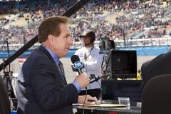 Gestionnaire Darrell Waltrip de cuvette de NASCAR Sprint Photographie stock