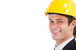 Gestionnaire de construction photographie stock