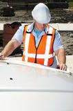 Gestionnaire de construction Images libres de droits