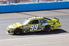 Gestionnaire de cuvette de Carl Edwards NASCAR Sprint photographie stock