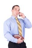 Gestionnaire de football américain Images stock