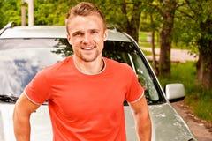Gestionnaire des sourires de véhicule Image libre de droits