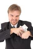 Gestionnaire et coruption photos stock