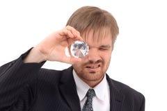 Gestionnaire et diamant photo libre de droits