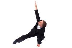 Gestionnaire et yoga photographie stock