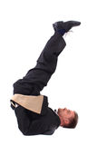 Gestionnaire et yoga photos stock