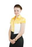 Gestionnaire féminin Images stock