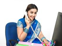 gestionnaire féminin de corporation Photo libre de droits
