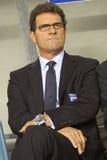 Gestionnaire Fabio Capello de l'Angleterre Image libre de droits