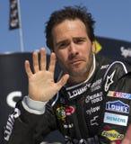 Gestionnaire Jimmie Johnson de champion de cuvette de NASCAR Sprint images stock