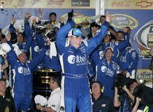Gestionnaire Ryan Newman de NASCAR photographie stock