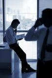 Gestionnaire songeur Photographie stock libre de droits