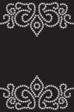 Gestippeld naadloos patroon stock illustratie