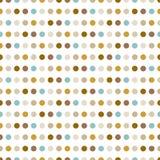 Gestippeld patroon. Moderne modieuze textuur. Stock Fotografie