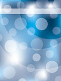 Gestippelde blauwe abstracte achtergrond royalty-vrije illustratie