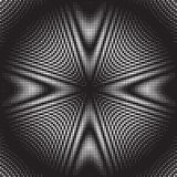 Gestippelde Halftone Vectorpatroon of Textuur vector illustratie