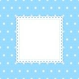 Gestippelde vectorachtergrond Royalty-vrije Stock Afbeeldingen