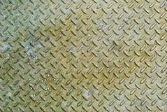 Gestoßener alter Metallbeschaffenheitshintergrund Lizenzfreies Stockbild
