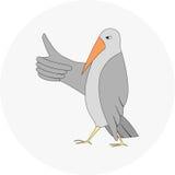 Gesto del pájaro Imagen de archivo libre de regalías