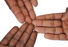 Gesto delle dita e delle mani Fotografie Stock Libere da Diritti