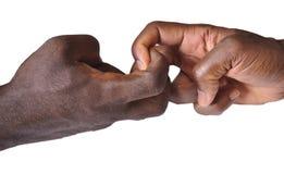 Gesto delle dita e delle mani Fotografie Stock