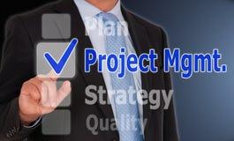 Gestão do projeto Imagens de Stock Royalty Free