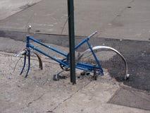 Gestolen wielen Stock Afbeelding