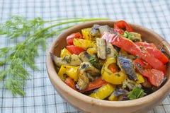 Gestoofde groenten Stock Afbeelding