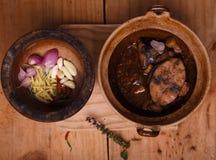 Gestoofde Tonijn - Vietnamese manier Stock Foto's