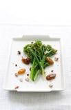 Gestoomde broccoli rabe Stock Afbeelding