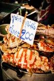 Gestoomde krabben Royalty-vrije Stock Foto's