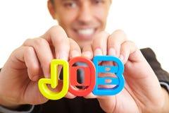 Gestore che cerca un job Fotografia Stock