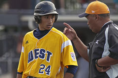 Gestore maggiore 2011 di serie di mondo di baseball della lega Immagini Stock