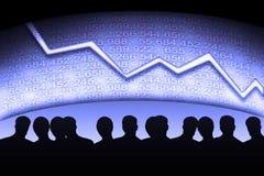 Gestori di attività bancarie Fotografia Stock