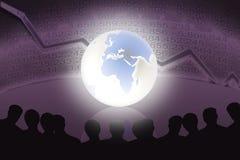 Gestori di attività bancarie Fotografia Stock Libera da Diritti