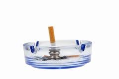 Gestorven sigaret royalty-vrije stock afbeeldingen