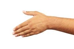 Gestos de mão masculinos, fim acima Fotografia de Stock Royalty Free