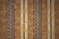 Gestreept Behang Als achtergrond Stock Afbeelding