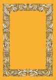 Gestreept frame Royalty-vrije Stock Fotografie