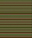 Gestreept Kerstmis naadloos breiend patroon Stock Afbeelding