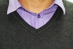 Gestreept overhemd stock afbeelding