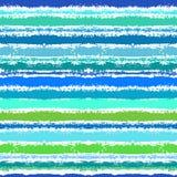 Gestreept patroon dat door overzeese golven wordt geïnspireerd stock illustratie