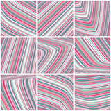 Gestreept patroon met strepen Royalty-vrije Stock Afbeelding